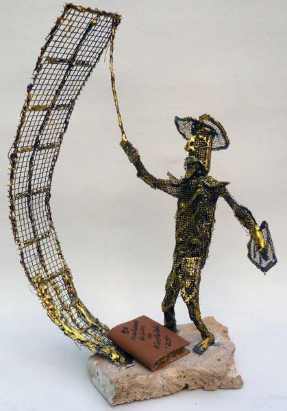 Troféu D. Quixote com Moinho